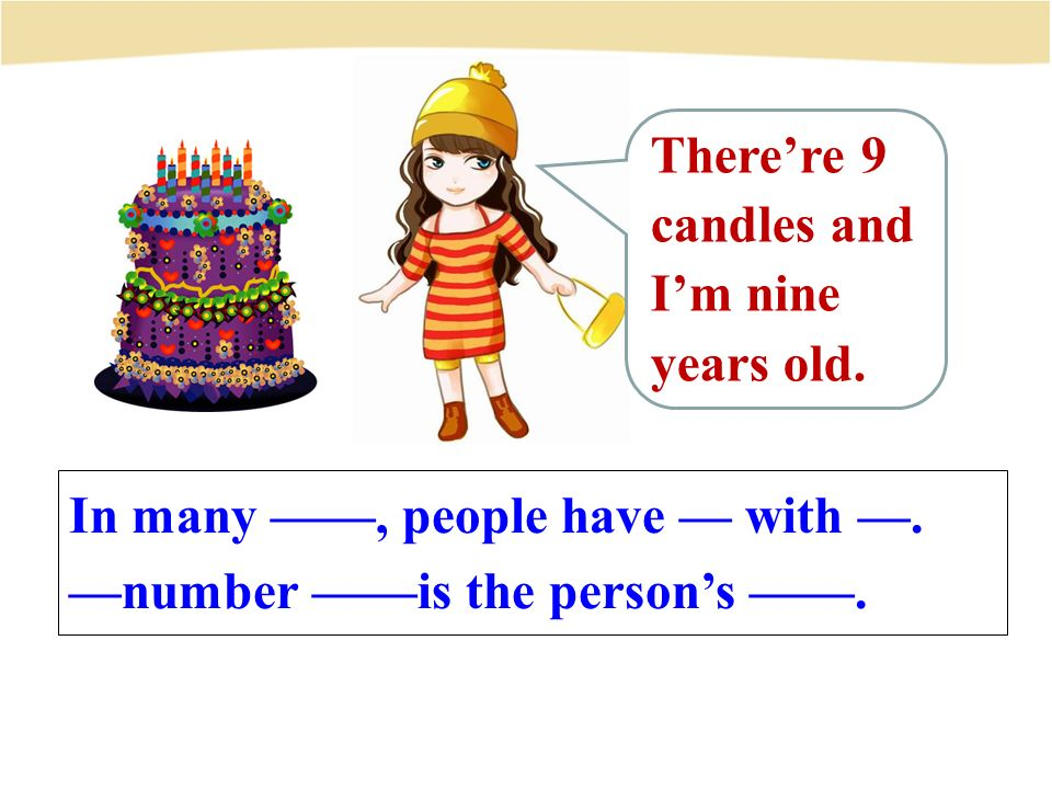 In many ——, people have — with —. —number ——is the person's ——.