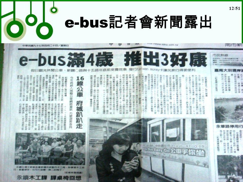 12/51 e-bus 記者會新聞露出