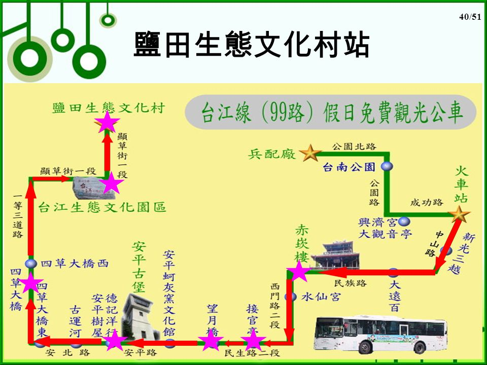 40/51 鹽田生態文化村站