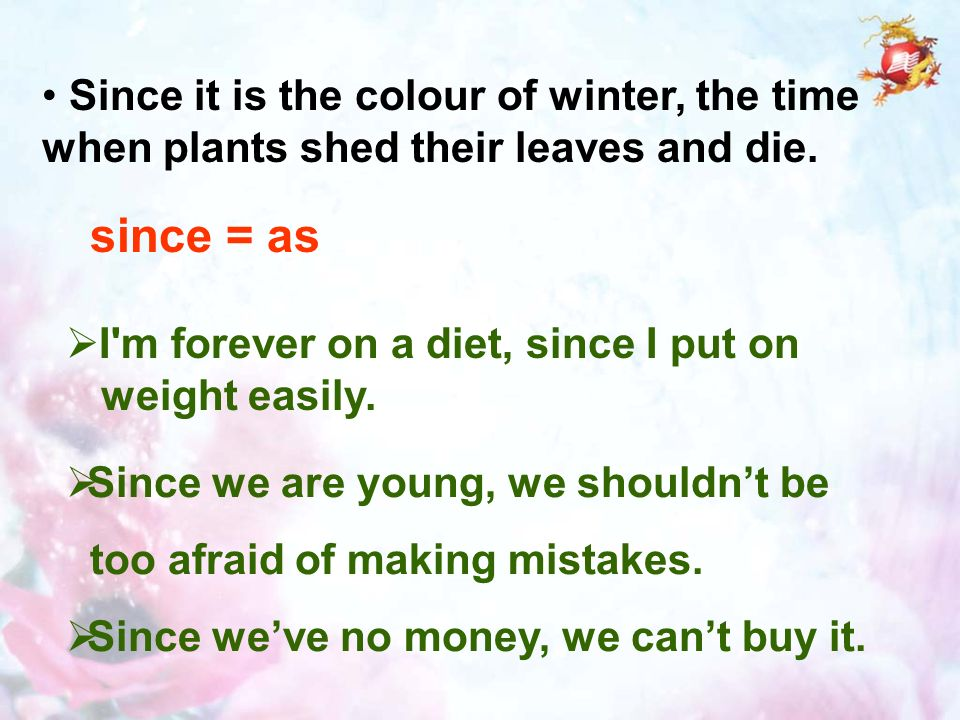 Since it is the colour of winter, the time when plants shed their leaves and die.