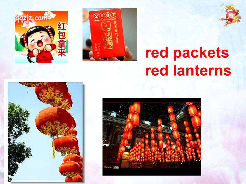 red packets red lanterns