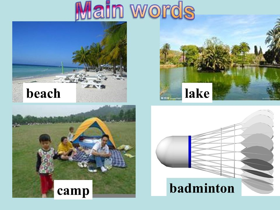 badminton beachlake camp