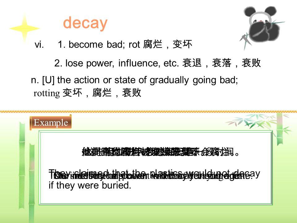 Word Study decayloosesecuredrip faintslidenakedoutline hintintervalblankepisode