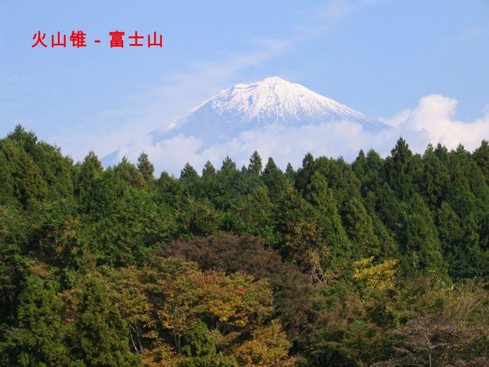 火山锥-富士山