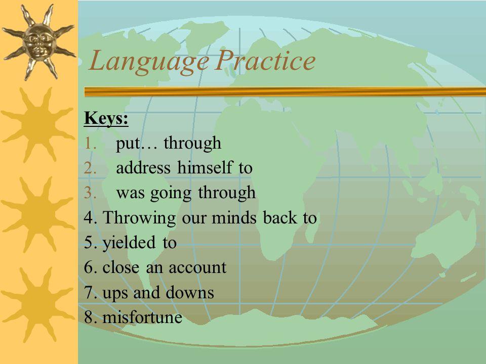 Language Practice 5.