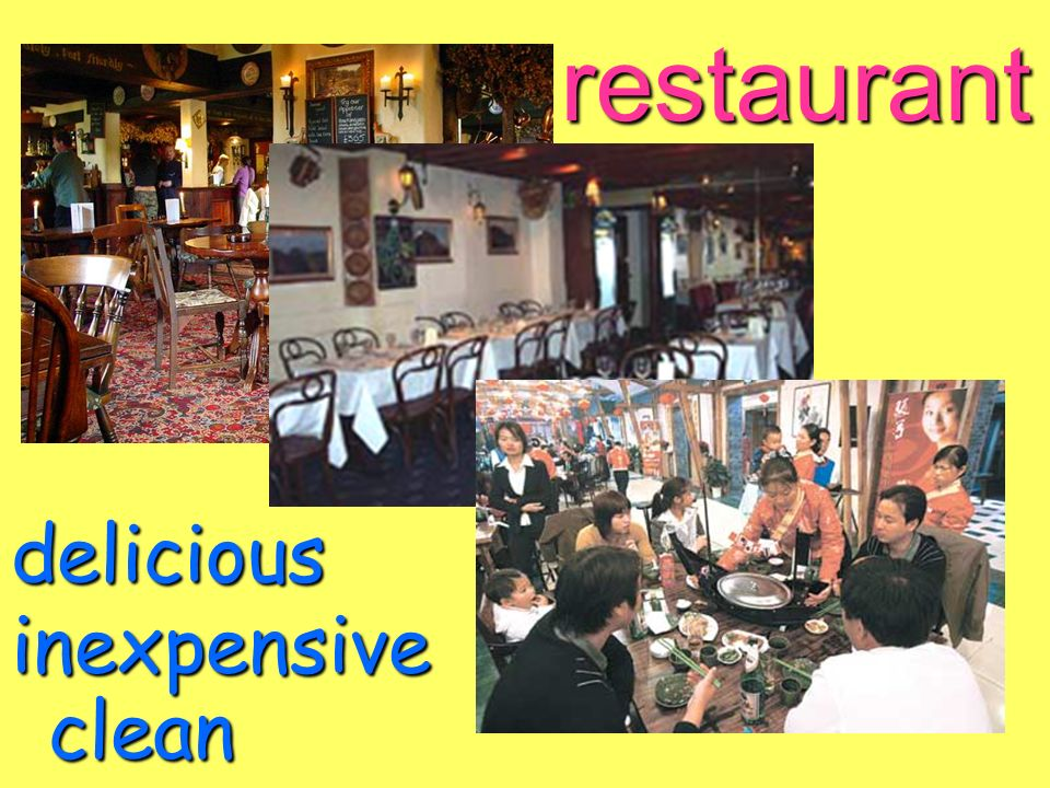 restaurant clean inexpensive delicious