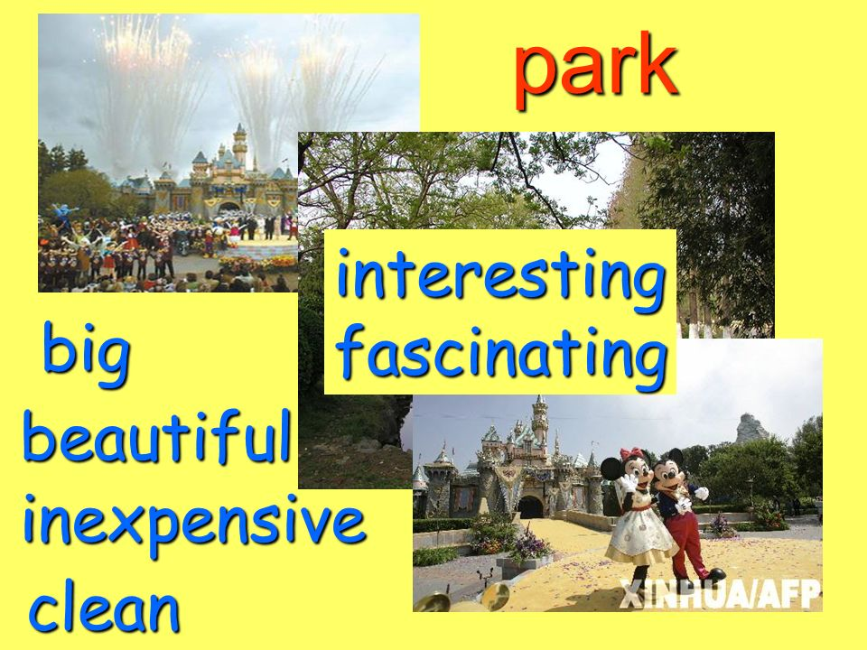 park beautiful big inexpensive clean interestingfascinating