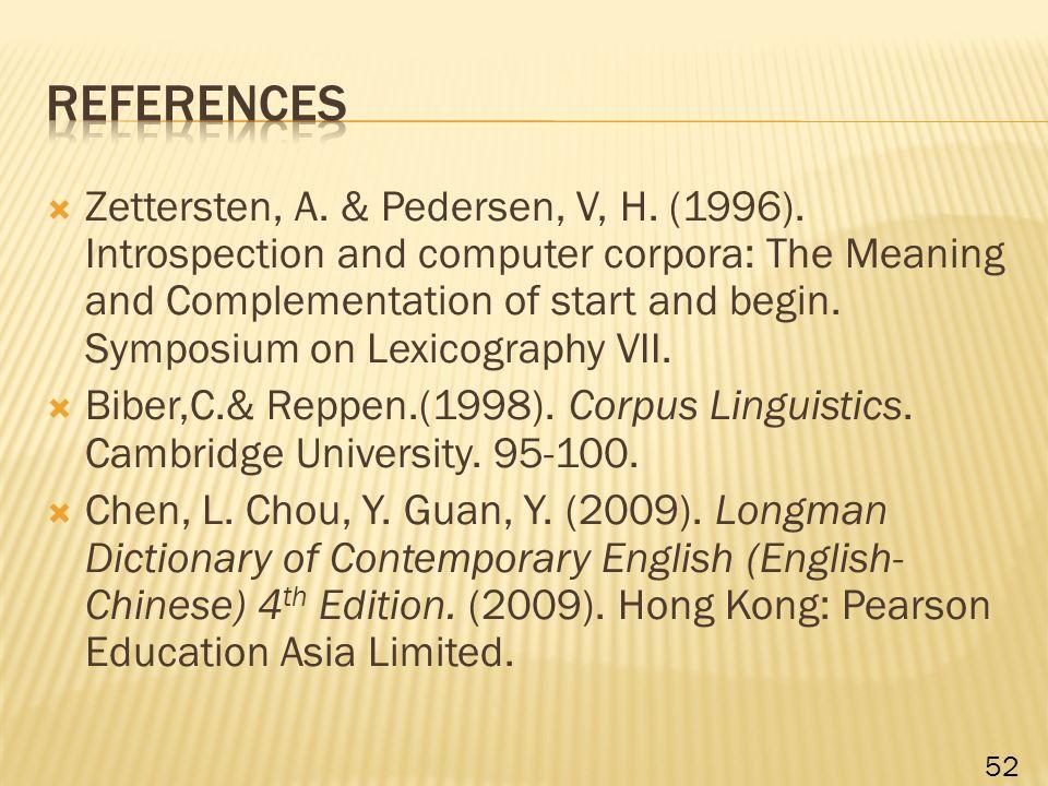  Zettersten, A. & Pedersen, V, H. (1996).