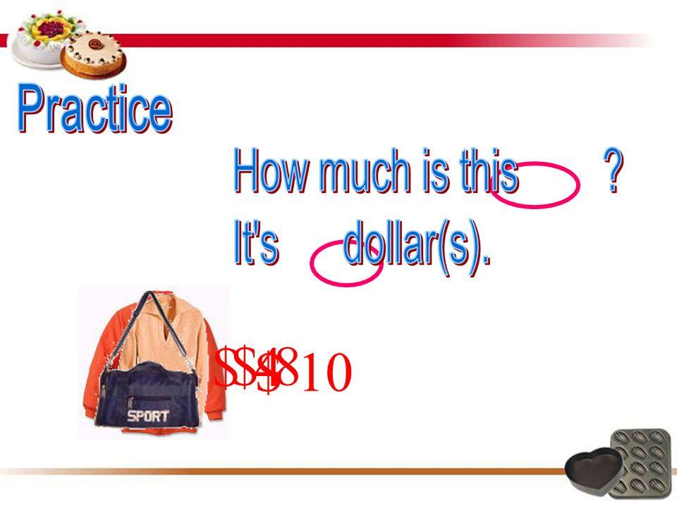 1 美元 ≈ 6 人民币元 1 英镑 ≈ 10 人民币元