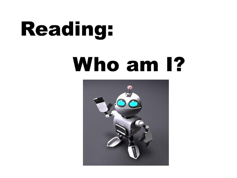 Reading: Who am I