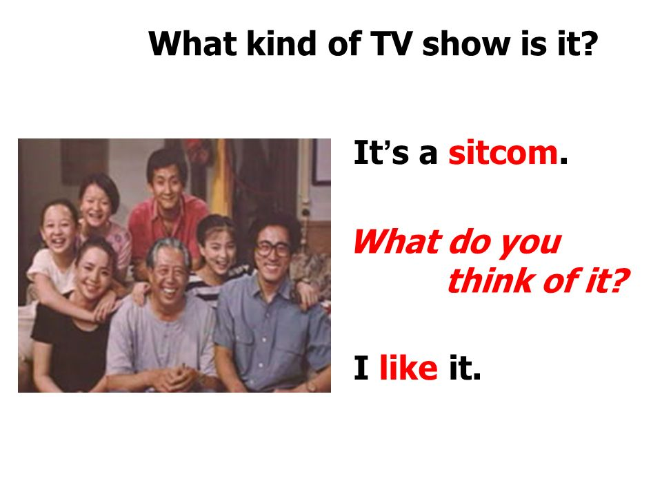 What kind of TV show is it. It ' s a sports show.