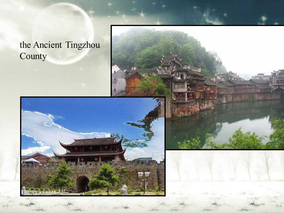 the Ancient Tingzhou County