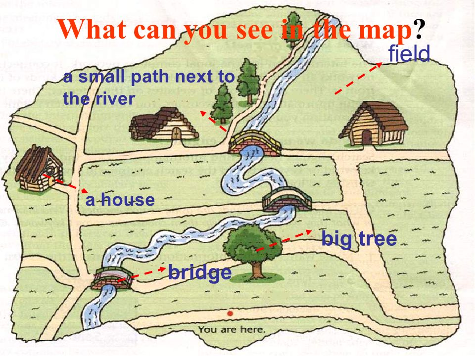To find the treasure We need the map