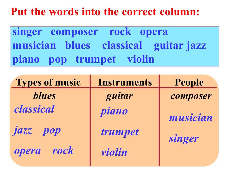 opera musician