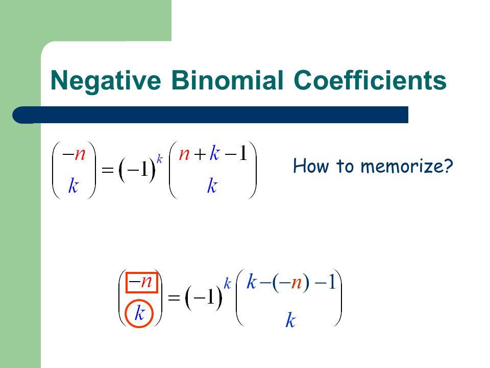 How to memorize k k k (n)(n) 11