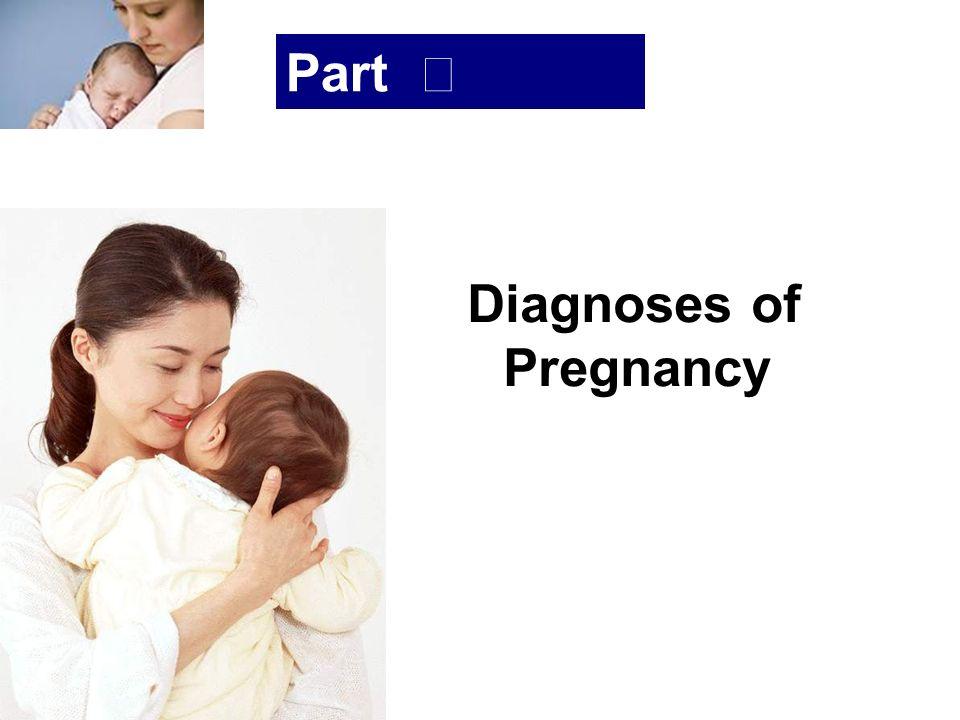 浙大医学院附属妇产科医院产科 Company LOG Part Ⅱ Diagnoses of Pregnancy