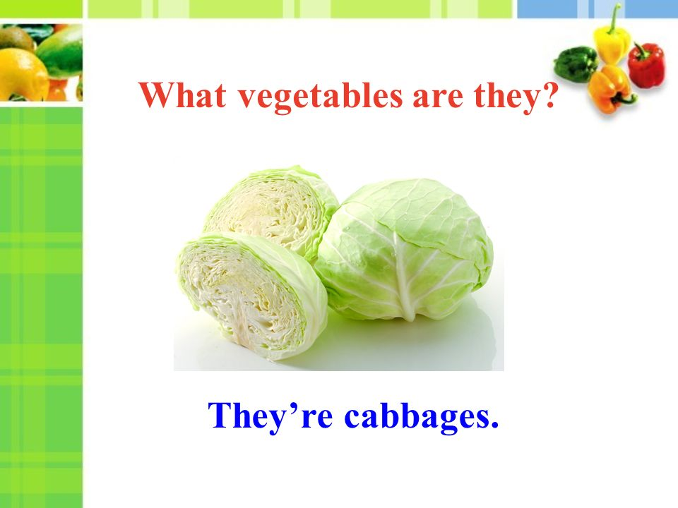 They're cabbages. What vegetables are they