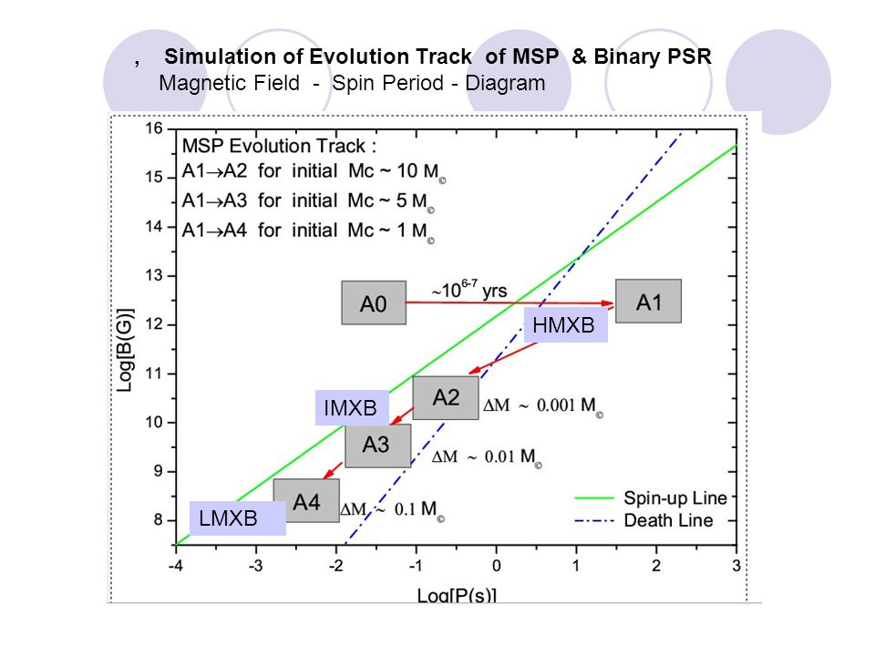 Binary Pulsar Evolution Path 双星系统中子星的演化