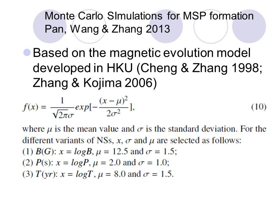 爱丁顿加速线上方的 8 颗脉冲星双星 --- 磁场周期图 磁场周期图中的脉冲星双星