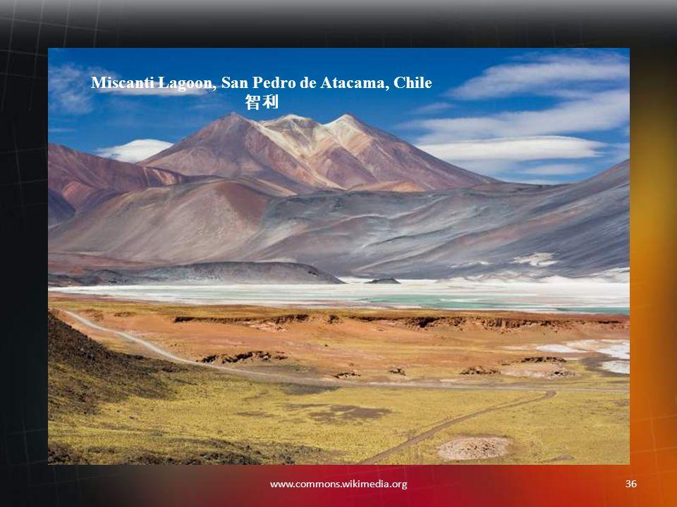 35www.commons.wikimedia.org Perito Moreno Glacier, Patagonia, Argentina 阿根廷,巴塔哥尼亚,佩里托莫雷诺冰河