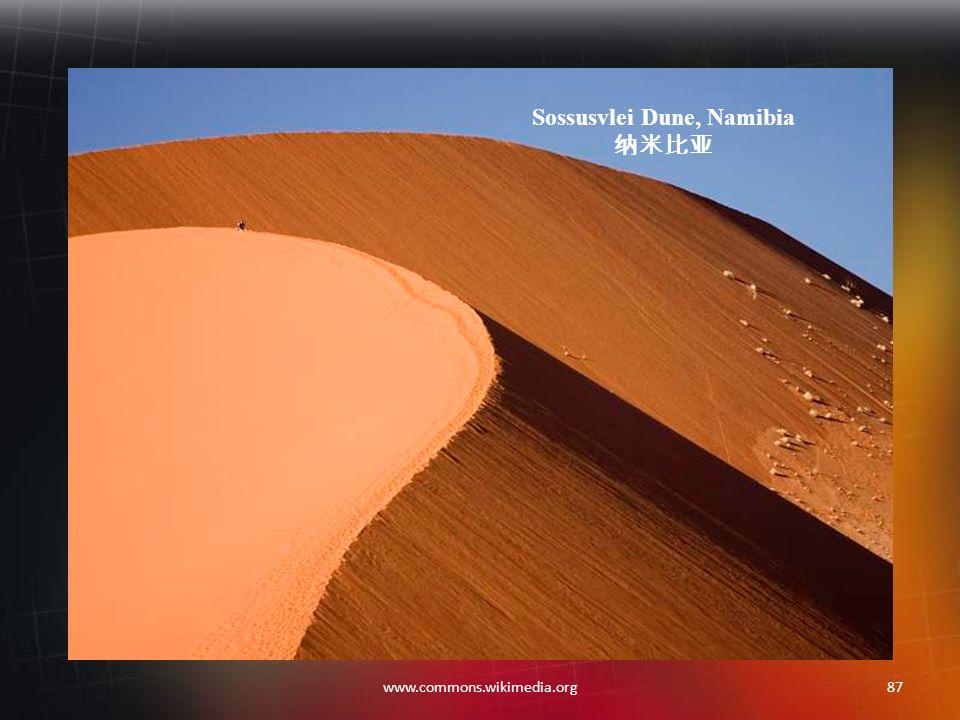 86www.commons.wikimedia.org Namibian Desert 纳米比亚沙漠 Africa 非洲