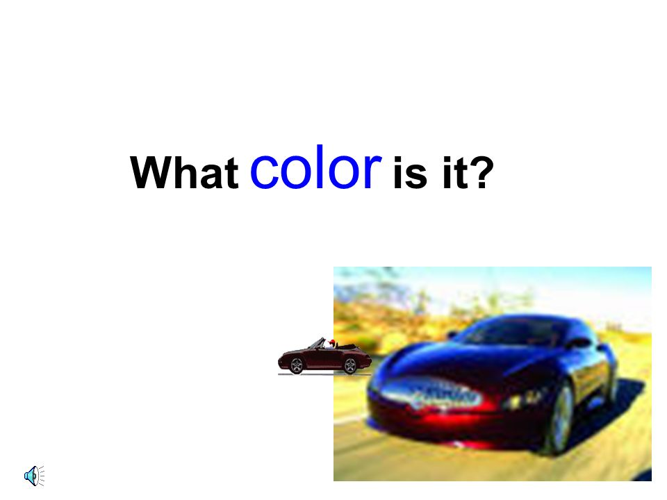 It's _________. yellow