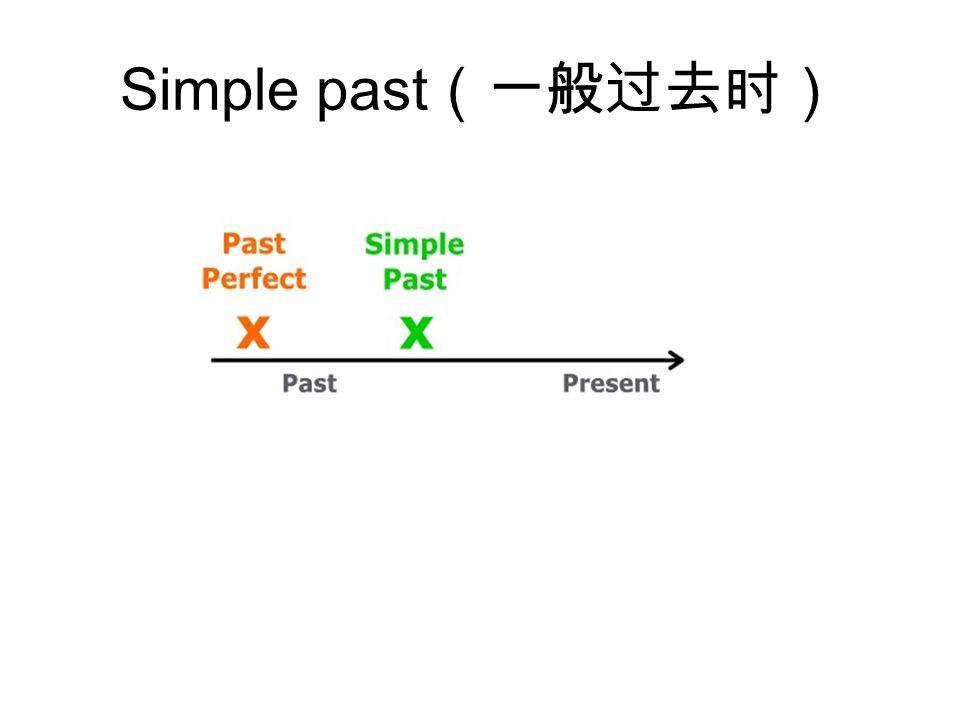 Simple past (一般过去时)
