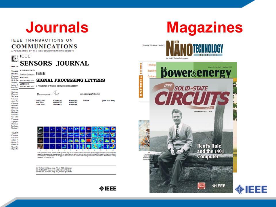 Journals Magazines