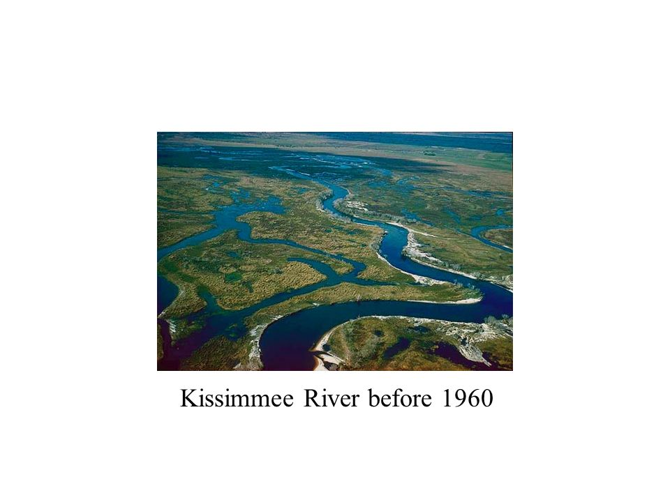 Kissimmee River before 1960
