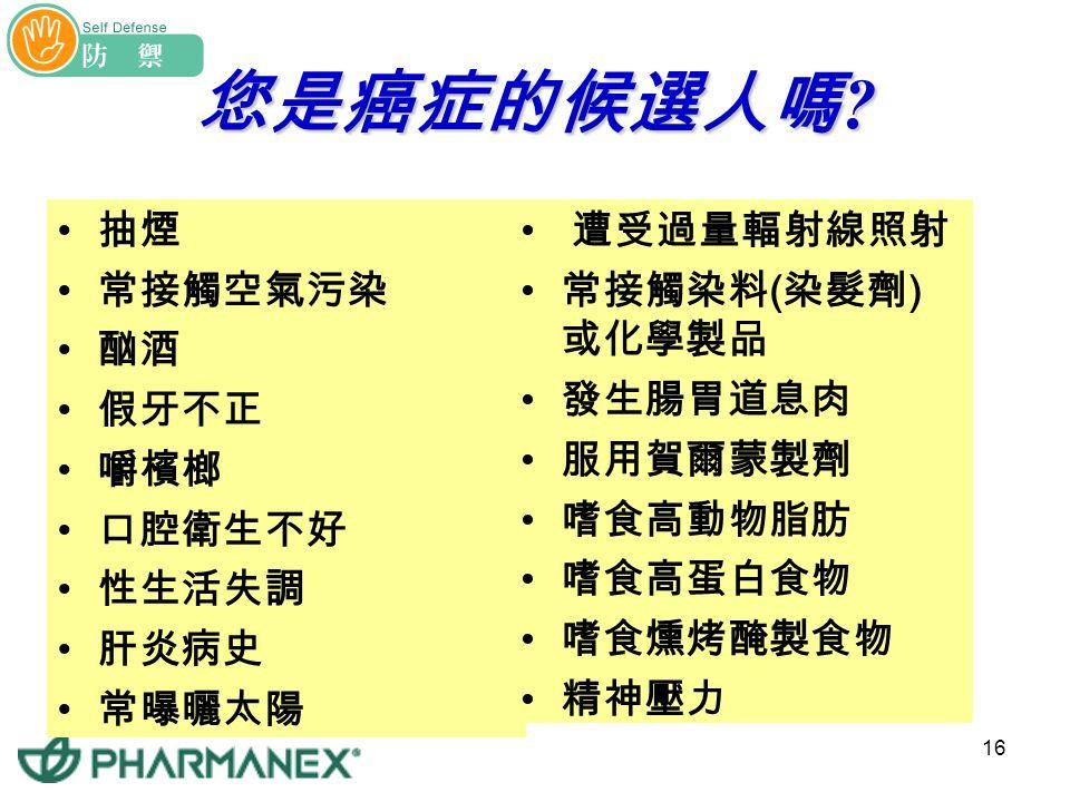 15 台灣地區近 20 年主要死亡率趨勢圖 台灣每 3.73 死亡人數中,就有一人是死於癌症 !!