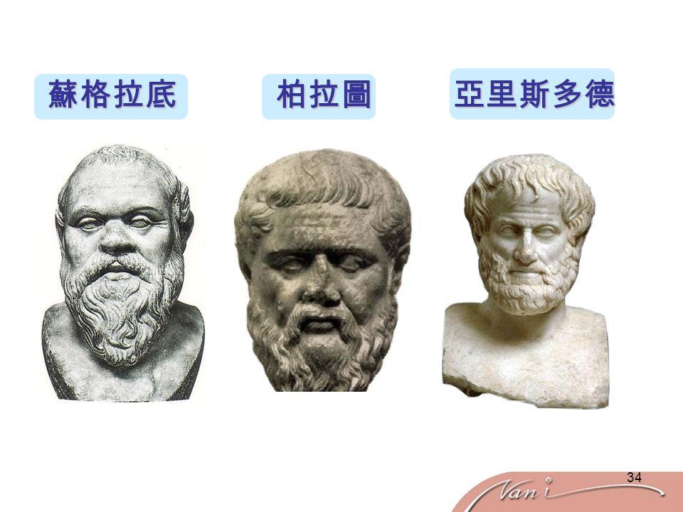 34 蘇格拉底 柏拉圖 亞里斯多德