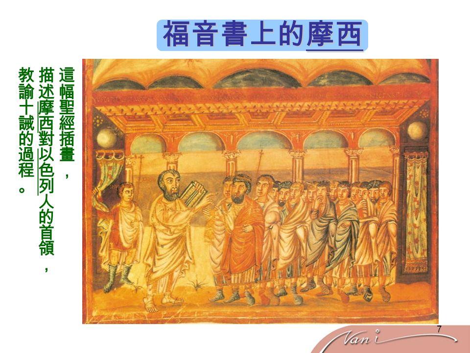 7 福音書上的摩西