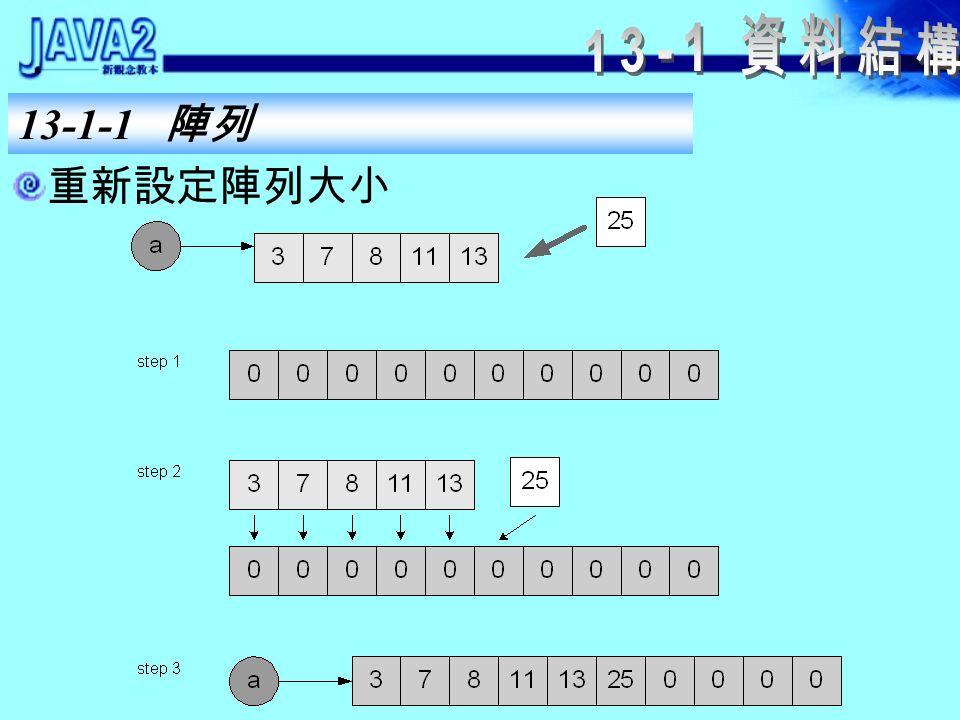 13-1-1 陣列 在陣列中插入一個元素值