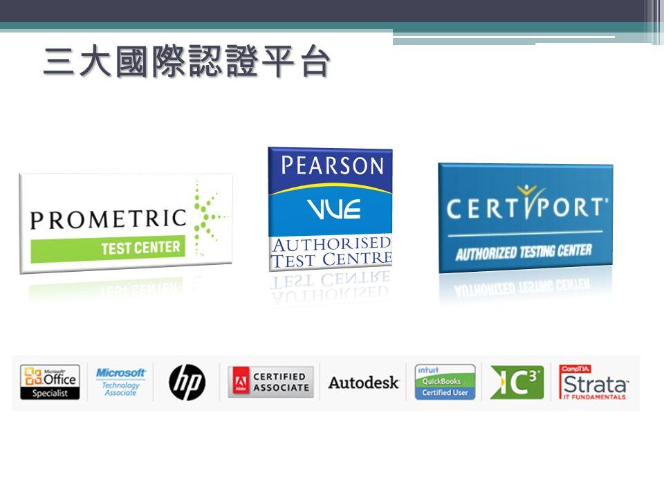 三大國際認證平台