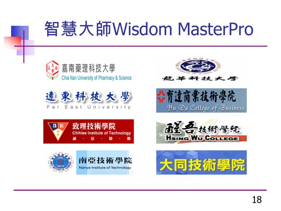 18 智慧大師 Wisdom MasterPro