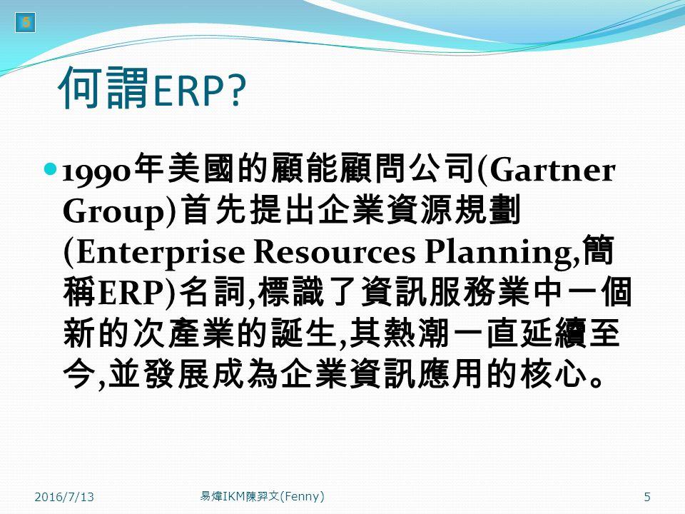 5 何謂 ERP.