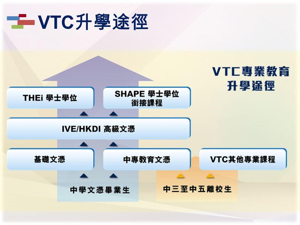 VTC 升學途徑