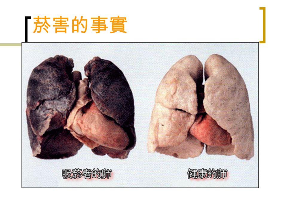 菸害的事實