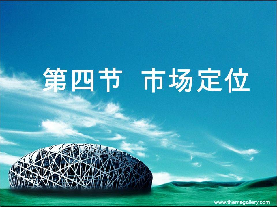 www.themegallery.com 第四节 市场定位