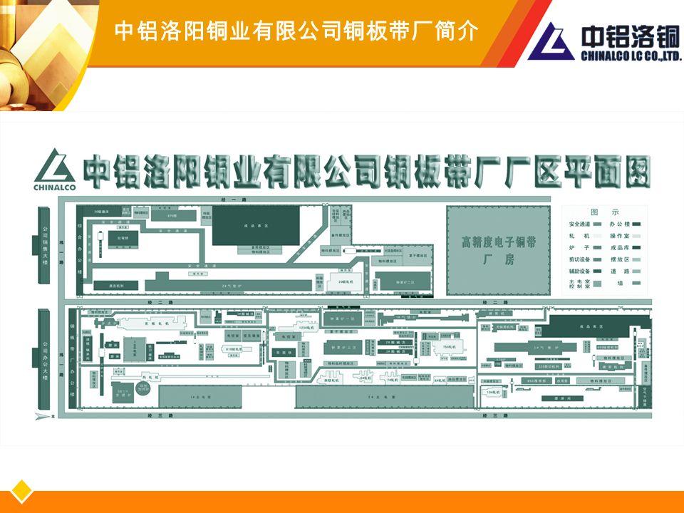 中铝洛阳铜业有限公司铜板带厂简介