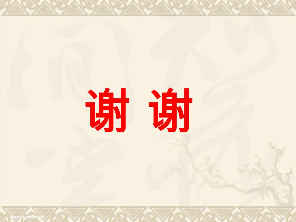 www.zhaokao.net TAEA 谢
