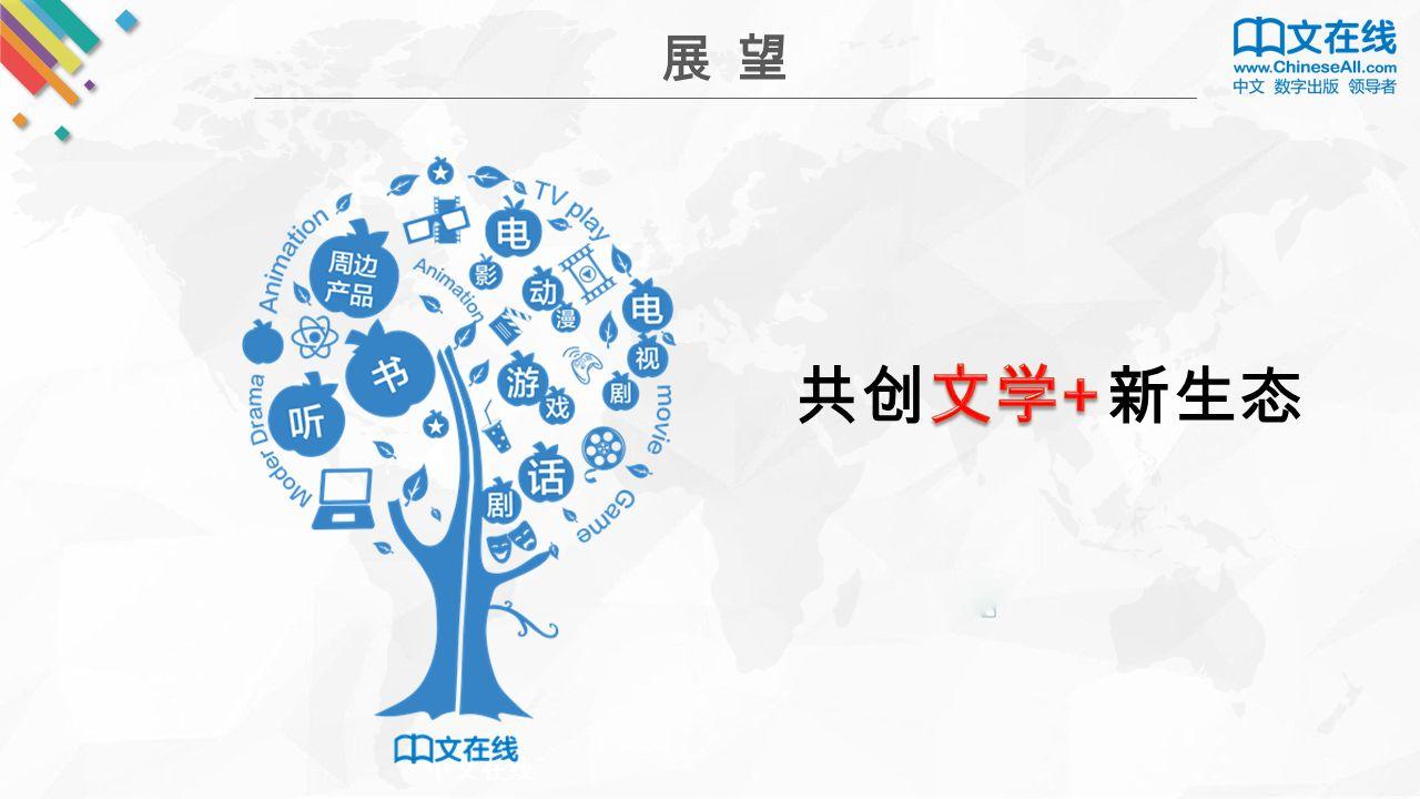 展 望 中文在线 共创 新生态