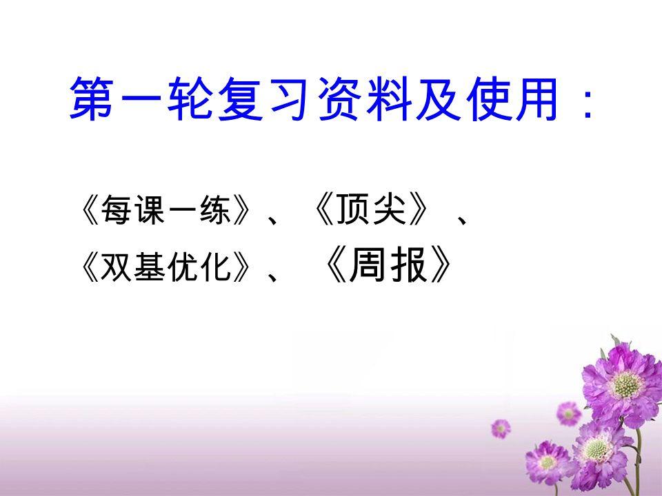 三轮复习时间安排 第一轮 : 基础知识复习阶段( 2 月 21-4 月 17 ) 七上:第 2 周 ( 6 课时); 七下: 第 3 周( 6-8 课时) 八上:第 4-5 周( 14-16 课时)八下: 第 6-7 周( 12-14 课时) 九上:第 7-9 周 ( 14-16 课时)九下: 第 9 周 ( 2-3 课时) 第 10 周 模拟测试 质检: 4 月 20--22 第二轮 : 专项训练复习阶段( 4 月 24-5 月 20 第三轮 : 综合性训练阶段( 5 月 21-6 月 3 ) 中考: 6 月 11 日 ---13 日