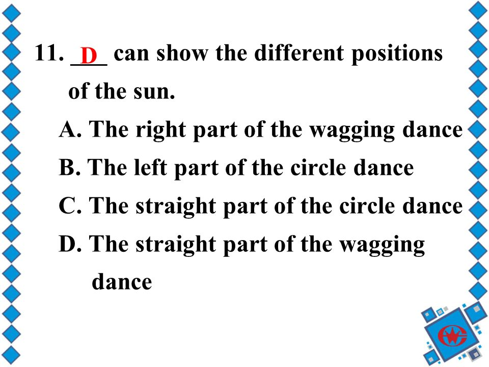 11. ___ can show the different positions of the sun.