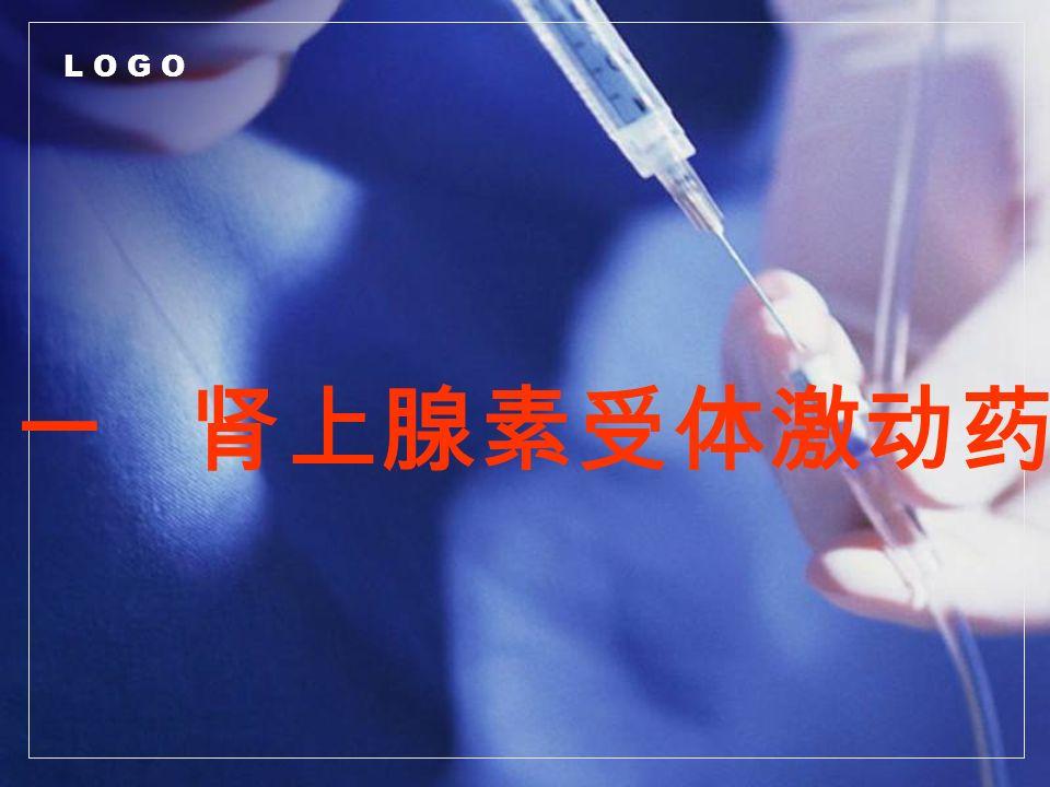 L O G O 一 肾上腺素受体激动药