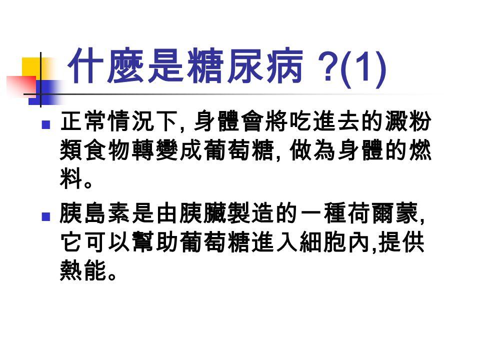 糖尿病知多少 台北市立聯合醫院陽明院區 家庭醫學科 林儀蒂 醫師