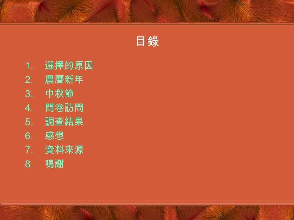 中國傳統節日 聖士提反女子中學附屬小學 張蔚瑩 小五乙 (5)