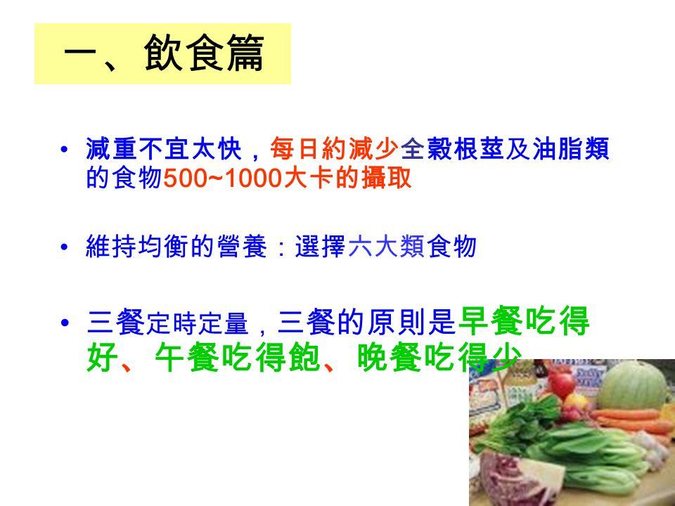 第六類 油 脂 類 品名蛋白質脂肪碳水化合物熱量每份簡易估算 油 脂 類油 脂 類 5 45 1 茶匙 = 1/3 湯匙