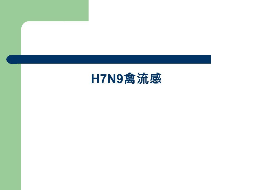 H7N9 禽流感