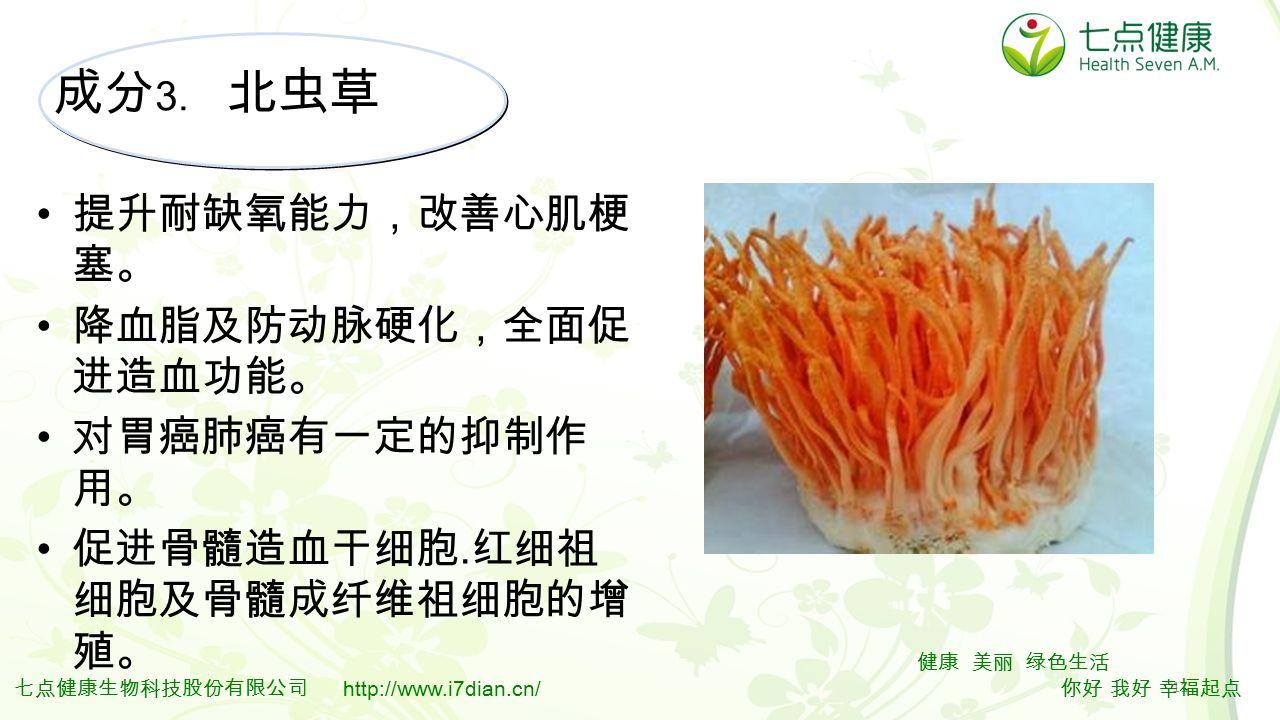11 健康 美丽 绿色生活 你好 我好 幸福起点 七点健康生物科技股份有限公司 http://www.i7dian.cn/ 成分 3.